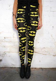 Batman Bat Logo Grunge Urban Halloween Leggings