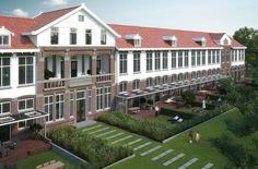 In Castricum werken wij aan de herbestemming van paviljoen De Loet en het ontwerp van zes vrijstaande villa's in een prachtige groene, monumentale omgeving. Wandel door ons ontwerp met het filmpje!