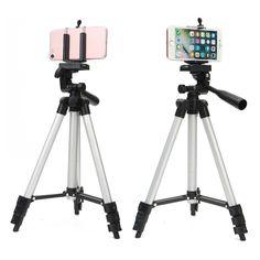 Professional Camera Adjustable Tripod Stand Holder Live Selfie Stick for iPhone Samsung Sale - Banggood.com