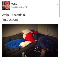 "It's me in stages. I fall asleep looking like ethan, and wake up looking like mark, with seventeen pillows plus another blanket or five, and I'm just like ""what happened??"""