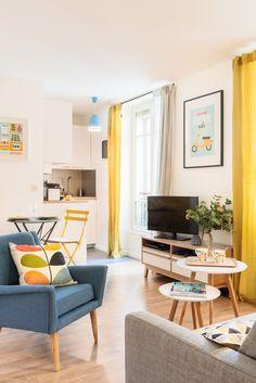 Rénovation studio 25m2 à Montmartre / Marion Alberge Décoration @CyrilleRobin