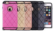 Buy TPU Shock-proof Armoured iPhone 6s Case for just £4.99 Wrap up your gadget with the TPU Shock-proof Armoured iPhone 6s Case      Choose from five colour options each sporting the stylish diamond textured pattern      Crafted from TPU and PC material to enhance cooling      Dual layer of protection provide shock absorption from knocks, drops and bumps      Recessed lip covers keeps the...