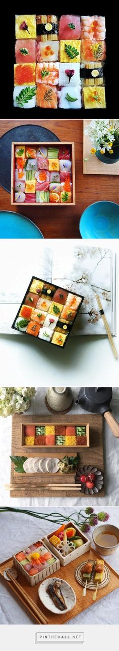 'Mosaic Sushi' Trend From Japan Turns Lunch Into Edible Works Of Art