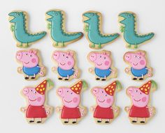 Peppa & George Pig Birthday Party via Kara's Party Ideas | KarasPartyIdeas.com #peppapigparty (5)
