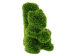 Grass Land Handmade Animal Squirrel with Artificial Turf (Green)