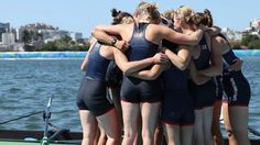 Great Britain's women's eight win their first Olympic medal, taking silver in…