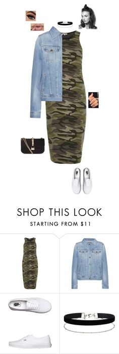 """19.7.16"" by jesshorne2016 ❤ liked on Polyvore featuring River Island, AG Adriano Goldschmied, Vans, Miss Selfridge and Valentino"