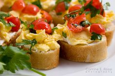 Eggs with Scallions and Tomatoes | Recipe | Creamy Scrambled Eggs ...