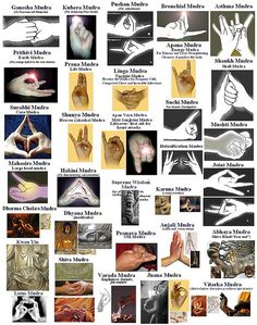 Mudras-SCROLL DOWN PAST CHART AND FIND EXCELLENT STEPS FOR HEALING WITH VISUALIZATION, AND MEDITATION FOR EACH CHAKRA. IT IS IN SPANISH BUT YOUR ONLINE TRANSLATOR WILL QUICKLY CONVERT TO YOUR LANGUAGE. GOOGLE HAS A QUICK TRANSLATOR!