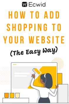 Do you need to add a shopping cart to your site to make it an ecommerce website? With Ecwid you can easily add a shopping cart to your WordPress, Wix, Weebly, Squarespace or other website and start making money today. Business Planning, Business Tips, Online Business, Business Website, Affiliate Marketing, Online Marketing, Marketing Models, Business Marketing, Marketing Logo