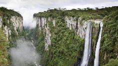 Canions do Sul do Brasil tem paisagens deslumbrantes