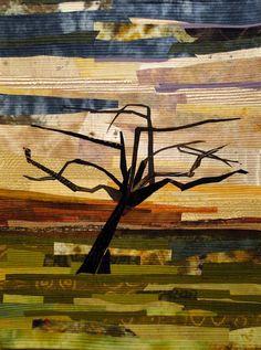 Apple Orchard by Pat Bishop   SAQA