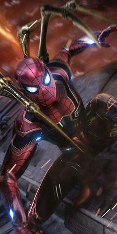Avengers Infinity War Spiderman Hd Wallpaper