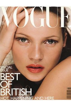 The Evolution Of Kate Moss, In 66 Vogue Covers 1998 UK