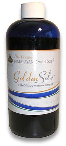 Golden Sole - with ORMUS Monatomic Gold Original Himalayan Crystal Salt http://www.amazon.com/dp/B001JDCVSQ/ref=cm_sw_r_pi_dp_bKxQtb181D6TDB0G