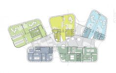The Architecture of Early Childhood: Kindergarten Design by CEBRA B Architecture, Education Architecture, Architecture Drawings, Kindergarten Design, Kindergarten Projects, Primary School, Elementary Schools, School Plan, School Floor Plan