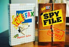 Remember Fun Fax and Spy File? Video coming later today! #nostalgia #funfax #spyfile #filofax #spyfax #retro #90s #retrotoys #retrogaming