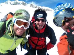 Our friend Matteo Zilla and his friends went to Piz Scalotta (2990), great day!
