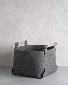 April and May: grey storage bins