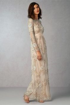 Wedding Dresses Under $2,000 | Dress by BHLDN  TheKnot.com Gorgeous Embellishments