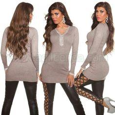 #Original #jersey #vestido #moda #otoño #invierno @mujer #diseño #ajustado al #cuerpo con #tejido de #punto #elastico que #destaca la #figura #escoteV de #pico #adornado con #brillante disponible en #colores varios de #estilo #sofisticado para #lucir #chic y #sexy todos los #dias y todos tus #eventos. Encuentralo en #Vestidosdeinvierno de @agiltienda.es #online #shop  http://www.agiltienda.com/es/home/2275-vestido-de-invierno-con-brillantes-8400227565801.html