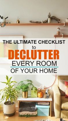 120+ Items to Declutter from Your Home Right Now   This ultimate checklist for decluttering my entire home, one room at a time is AMAZING. I know I won't regret decluttering this list of items and it will make my life simpler and more organized.   #declutter #simplify #simplelife #organization