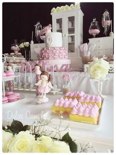 Shabby chic Baptism Party Ideas | Photo 8 of 22