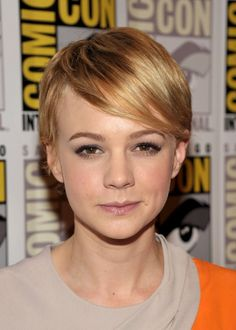 Carey Mulligan- maybe like this?