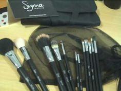Pinceles y brochas de maquillaje SIGMA MakeUp