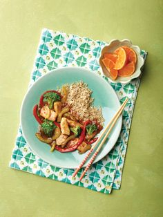 """Master Stir Fry Chicken Stir Fry from the NEW """"The Perfect Diabetes Comfort Food Collection,"""" by Robyn Webb"""