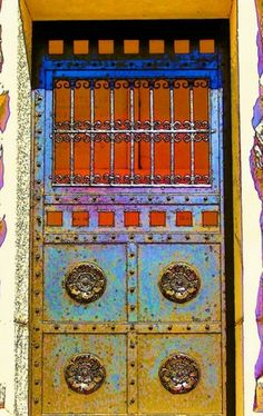 Superbe Incredible Gypsy Art Door. Unique Doors. Front Door. Unique Art. Door Art