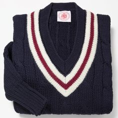 Cricket sweater.