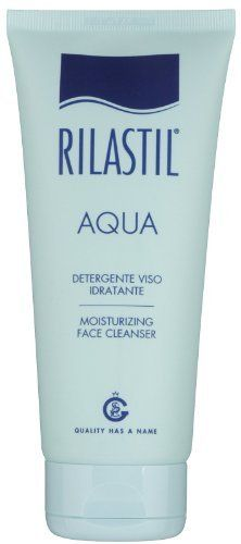 Rilastil Aqua Moisturizing Face Cleanser-6.76 oz by Rilastil. $42.00. Restores skin barrier integrity, hindering skin water loss (SK Influx). Confers brightness and softness to the face skin (Enotera Oil with Omega 6). Suitable for any kind of skin. Restores skin moisturization (Hyraluronic acid with molecular weight for superficial moisturization and Hyalo-Oligo for deep moisturization). A Soothing Touch for Skin  Keep your skin hydrated with Rilastil Aqua Moisturizing Face Cl...
