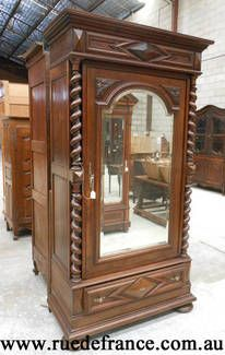 Antique French Single Door Armoire... I Need This For My Baby Girlu0027s Room.  | Home | Pinterest | Single Doors, Armoires And Doors