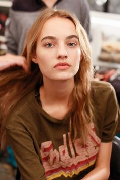 Spring/Summer 2017: Vera Wang Backstage Beauty Looks | British Vogue