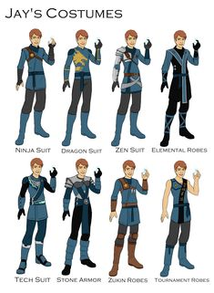 Jay's Costume design by joshuad17.deviantart.com on @DeviantArt