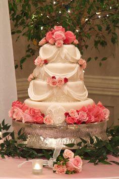 Assorted Rose Cake Decor