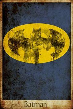 Harshness Batman Movie Poster