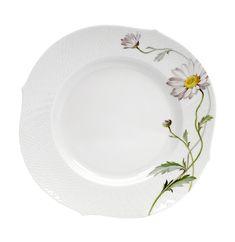 Plate, Flower painting marguerite, ø 22,5 cm