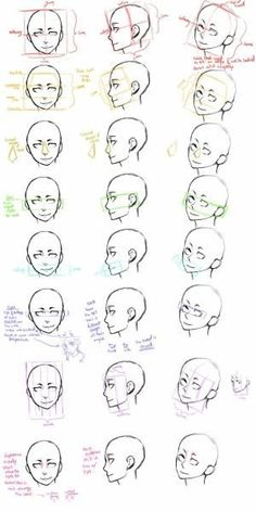 How to draw face angles by mvaleria