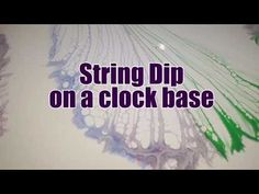 99 - String Dip plus trialing a multi coloured strand - YouTube
