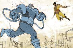 Wolverine vs. Apocalypse!