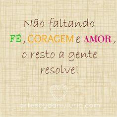 #Fé#coragem#Amor ♡