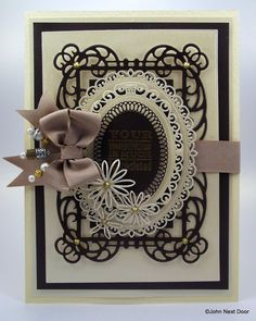 spellbinders mystical embrace die   This is the first card I have made with the cardstock and so I thought ...
