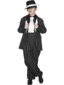 Jongens Kostuum Mafia Baas