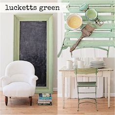 Miss Mustard Seed Milk Paint - Lucketts Green - 1 qt. Furniture Wax, Green Furniture, Furniture Makeover, Pastel Furniture, Milk Paint Furniture, Furniture Refinishing, Refurbished Furniture, Upcycled Furniture, House Painting