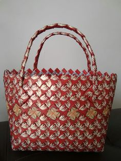 Candy Wrappers, Birch Bark, Paper Bags, Straw Bag, Weaving, Handbags, Purses, Chain, Coffee