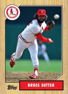 St Louis Baseball, St Louis Cardinals Baseball, Stl Cardinals, Bruce Sutter, Army Football, Pittsburgh Pirates Baseball, Baseball Pictures, Mlb Teams, St Louis Cardinals