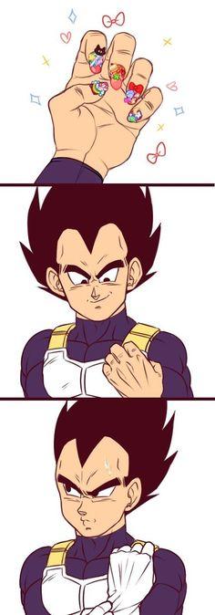 Vegeta - I see why you always wear gloves bro Anime Meme, Manga Anime, Anime Art, Dragon Ball Z, Vegito Y Gogeta, Dbz Memes, Funny Dragon, Vegeta And Bulma, Otaku