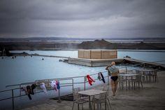 Laguna Azul del lago Myvatn. Islandia. Sonsoles Lozano